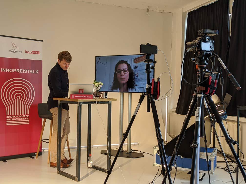 Livestreamberlin Livestream mit Zuschaltung