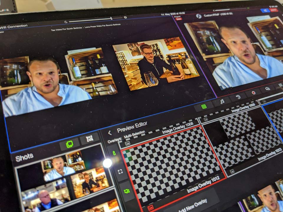 Livestreamberlin Virtuelle Konferenz Tablet View 2